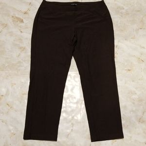 Eileen Fisher Brown Knit Pants